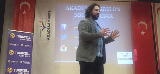 Akademi Kıbrıs'ta ilk gün