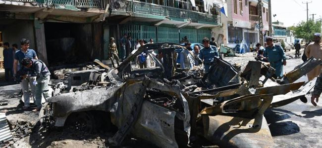 Patlamada 3 kişi hayatını kaybetti