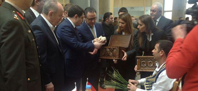 Kuzey Kıbrıs İstanbul'da Newroz Bayramı'nda temsil edildi