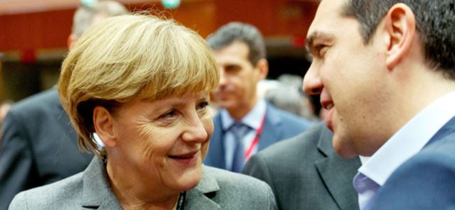 Merkel - Tsipras görüşmesi