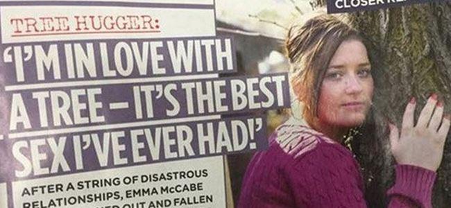 İngiliz kadın ağaçla evlenmek istiyor!