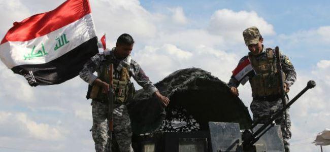 Irak ordusu ABD desteğiyle ilerliyor