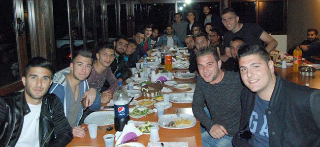 MTG A2 takımı yemekte buluştu