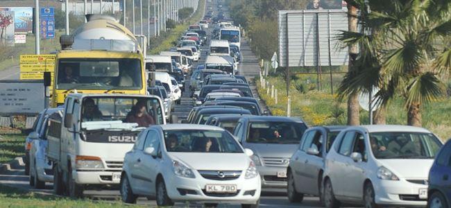 Trafikte 283 bin 300 TL hasar