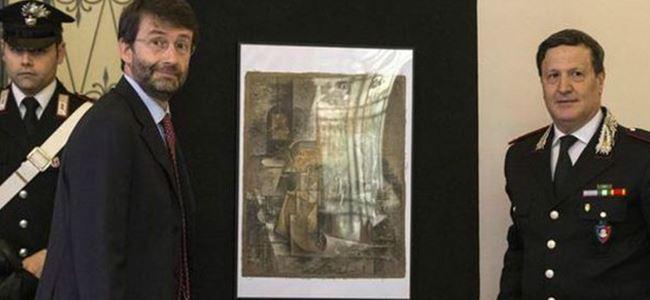 Kayıp Picasso çerçevecinin eline nasıl geçti?