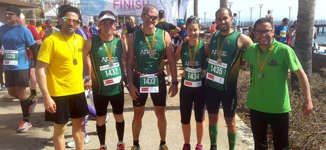Limasol Maratonu'nda yarıştılar