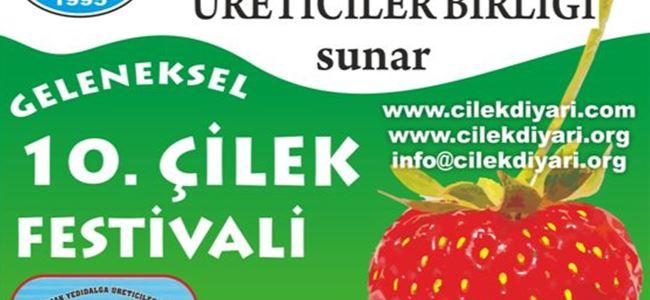 10. Geleneksel Çilek Festivali