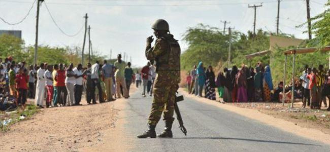 Kenyada sokağa çıkma yasağı