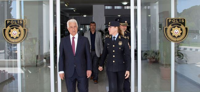 Eroğlu, Polis Genel Müdürlüğü'nü ziyaret etti