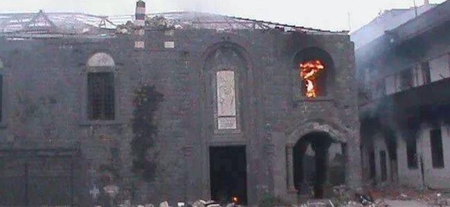 81 yıllık kiliseyi havaya uçurdular