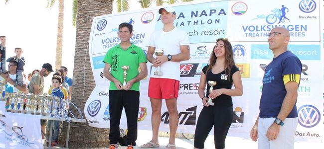 Ayia Napa'da gelen başarı