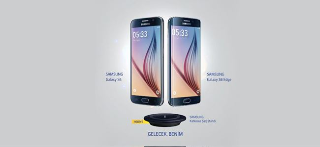 Turkcell'den Samsung Galaxy S6