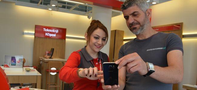 Samsung Galaxy S6 ve S6 Egde Telsim Shoplarda satışa sunuldu