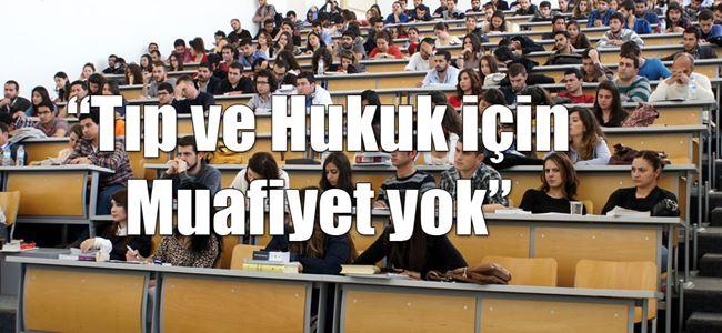 Taban puan Kuzey Kıbrıs için de geçerli