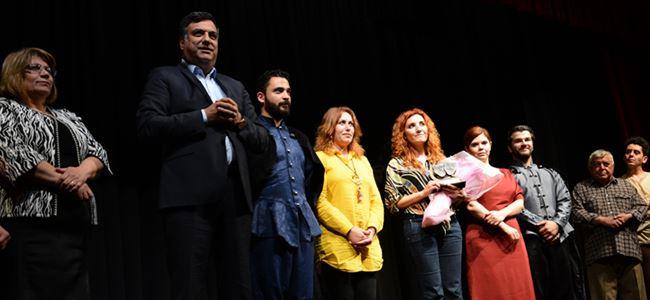 """1. Mesarya Tiyatro Şöleni """"Kayıp""""la sona erdi"""