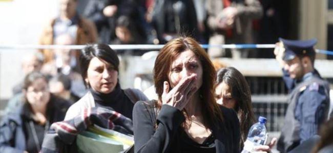 Saldırı protesto edildi