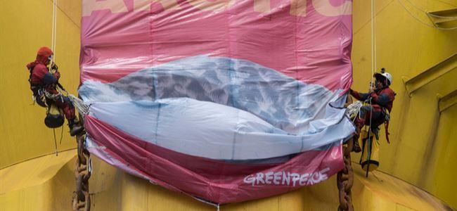 Greenpeace eylemini sonlandırdı