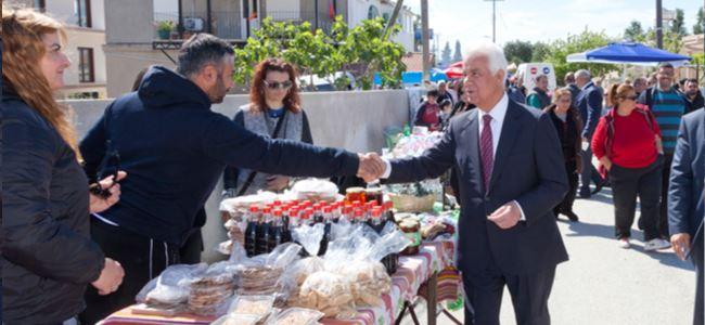Eroğlu Kalavaç festivaline katıldı