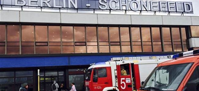 Berlinde bomba paniği