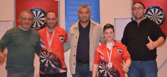 Antalya'da dört madalya