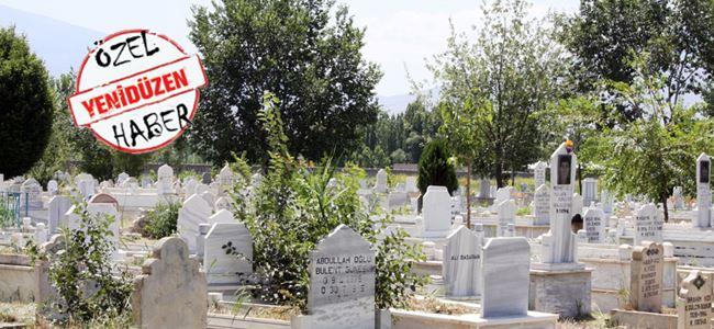 Mezarlık yolsuzluğu iddiası zanlısı SERBEST…