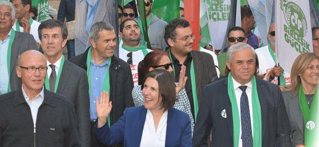 Girne'de Sibel Siber rüzgarı esti!