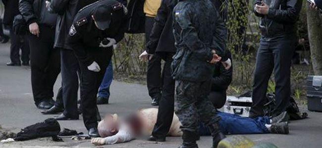 Gazeteci Oles Buzina öldürüldü!