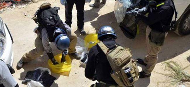 Suriyede klorin gazı iddiası…