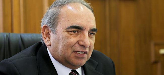 Yüksek Seçim Kurulu Başkanı Şafak Öneri, oyunu kullandı.