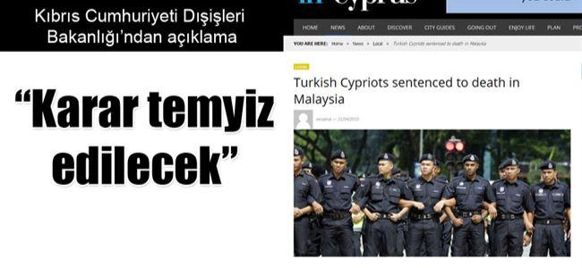 2 Kıbrıslı Türk Malezya'da idam ediliyor