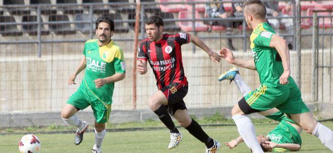 Hamitköy Play off'ta 1-1