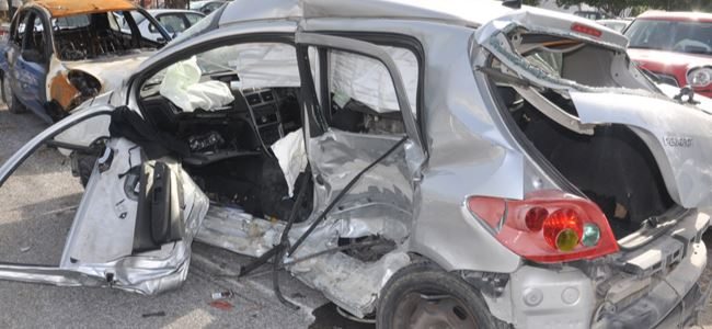 Korkutan kaza: 3 yaralı
