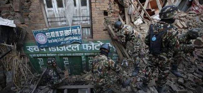 Nepalde ölü sayısı 4 bin 500e yükseldi