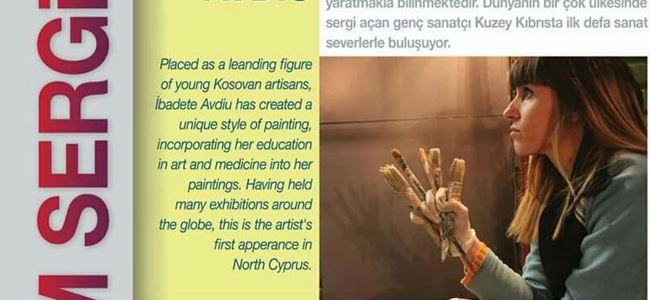 Kosovalı ressam Mehmetçik'te sergi açıyor