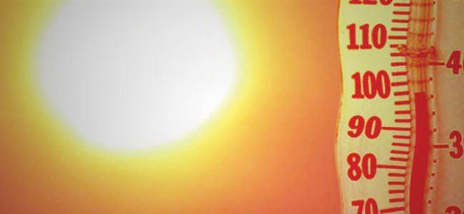 Hava sıcaklığı 31 derece