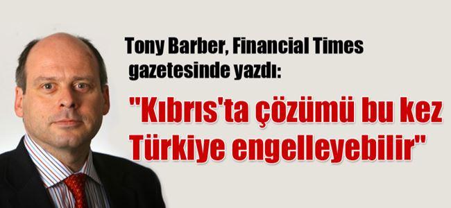 Kıbrısta çözümü bu kez Türkiye engelleyebilir