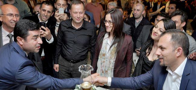BKP, HDP'nin dayanışma gecesine katıldı