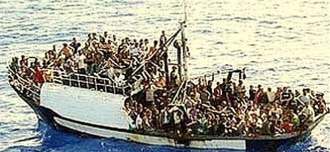 İtalyaya kaçak göçmen akını