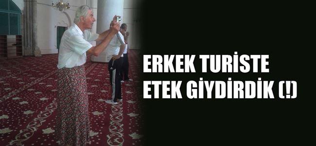 ERKEK TURİSTE ETEK GİYDİRDİK (!)