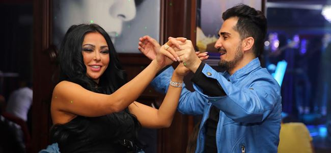 Lübnanlılar Kıbrıs'ta eğlendi