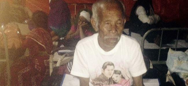 101 yaşındaki adam, 8 gün sonra kurtarıldı