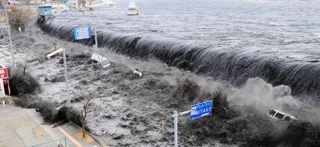 Önce deprem, şimdi de tsunami