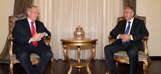 Akıncı, ABD Büyükelçisi Koenıg'i kabul etti
