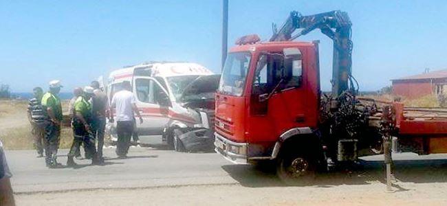 Doğancı kavşağında kaza… 1 yaralı