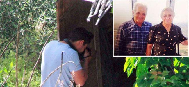 Yaşlı çift cinayete kurban gitti