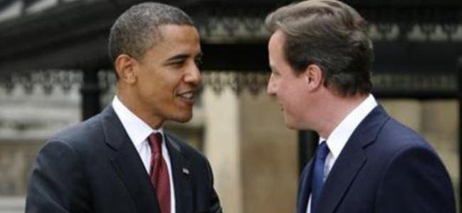 Obama, Cameronı kutladı