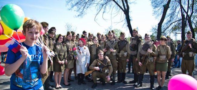Rusyada Zafer yürüyüşü