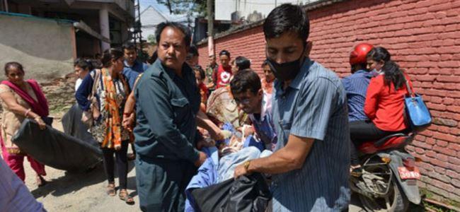 Nepalde yine deprem