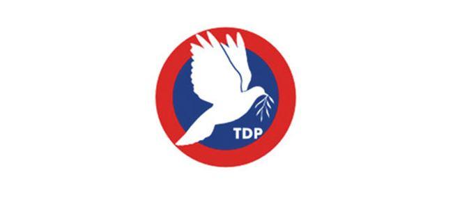 TDP Tüzük Kurultayı, 28 Haziran'da yapılacak