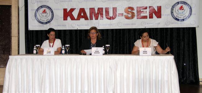 Kamu-Sen'in 26. Genel Kurulu yapıldı